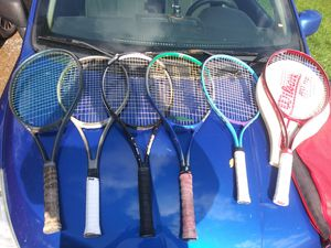 Tennis racket lot Prince, Wilson X6 for Sale in Lewisburg, PA