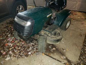 Craftsman riding mower works and has bagger for Sale in Brunswick, OH