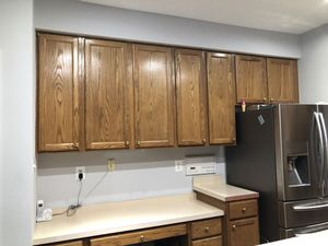 Kitchen cabinets for sale 23-26 piece for Sale in Alexandria, VA