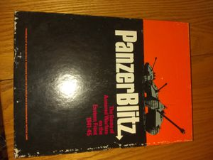 Panzerblitz board game gently used. for Sale in Greensburg, PA