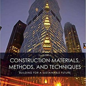 Construction Materials, Methods and Techniques 4th Edition ebook PDF for Sale in Ontario, CA