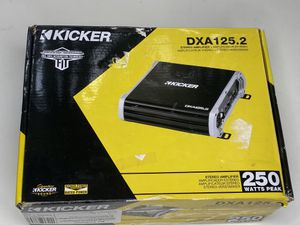 Kicker 43DXA1252 Car Audio 2 Channel Amp DXA125.2 AMP Amplifier for Sale in Orlando, FL