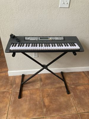 Yamaha key board with stand for Sale in Homestead, FL