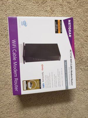 Netgear modem router for Sale in Irvine, CA