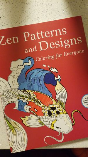 Zen Patterns Coloring Book for Sale in Fairfax, VA