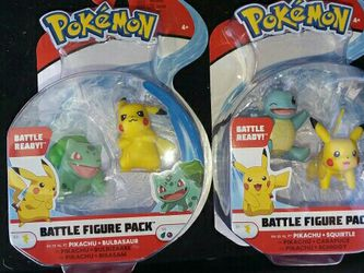 2 NEW Pokeon Battle Figure Packs for Sale in Copperas Cove,  TX