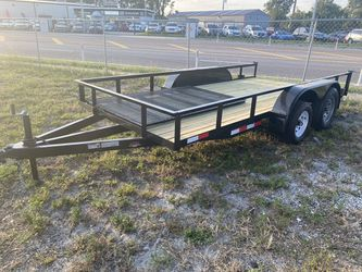 6x14 Tandem (Double) Axle Utility Trailer for Sale in Tampa,  FL