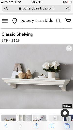 2 Pottery Barn Wall Shelves Ledges for Sale in Virginia Beach, VA