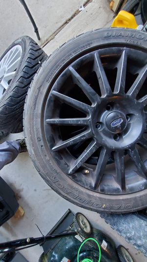 Ford Focus SVT 15 Spoke rims 17x7 (Rare) for Sale in Dallas, TX