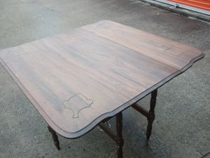 Antique 6 leg gated table solid walnut for Sale in Nashville, TN