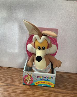 Vintage 90s Baby Looney Tunes Wile E Coyote for Sale in Carol Stream, IL