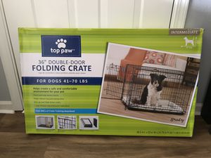 "Medium Dog Crate 36"" for Sale in Quincy, MA"