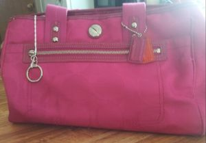 Pink Coach purse for Sale in Princeton, LA
