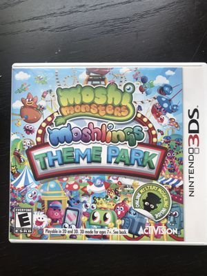 Moshi Monsters Moshlings theme park Nintendo 3DS for Sale in San Diego, CA