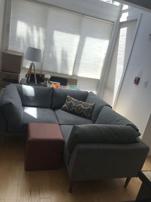 Light Grey Sectional Sofa for Sale in Washington, DC