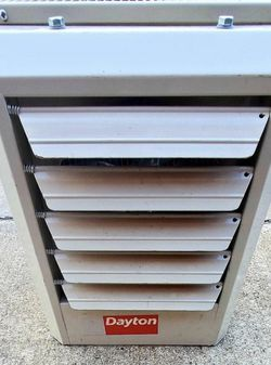 Electric Wall & Ceiling Unit Heater, 25kW, 480V AC, 3-phase, Air Temp. Rise 38°F/44°F for Sale in Austin,  TX