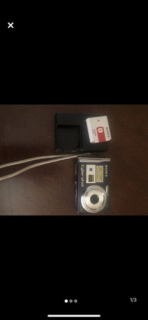 Sony Cybershot Camera for Sale in Rochester, NY