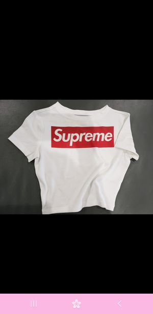c10b7392 Supreme xs crop top DTG CUSTOM PRINTING for Sale in Rancho Cucamonga, CA