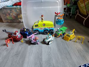 Paw patrol terrain vehicle and accessories for Sale in Herculaneum, MO