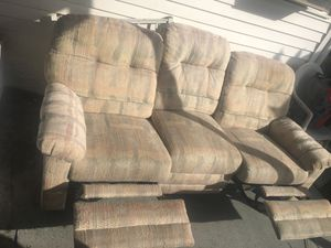 Double Recliner sofa for Sale in Hollywood, FL