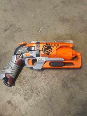Nerf Zombiestrike Hammershot Gun for Sale in Las Vegas, NV