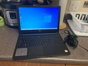 New! Dell Inspiron 15.6in Touchscreen A6 Laptop W/Windows 10 & Lifetime Office 4gb Ram 1tb (FAST) for Sale in Las Vegas, NV