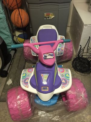 Barbie power wheels with battery for Sale in Ontario, CA