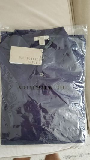 Burberry Men Polo long sleeve for Sale in Morrisville, NC