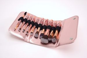 10PC RHINESTONE HANDLE MAKEUP BRUSH SET for Sale in City of Industry, CA