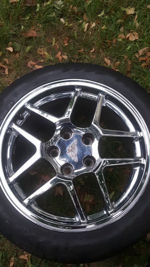 Used, C5 corvette rims also fit c4 for Sale for sale  North Arlington, NJ
