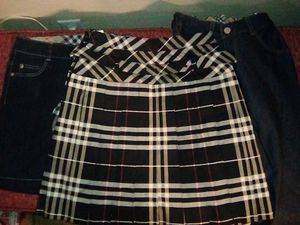 Authentic Burberry Skirt, Shorts and Capris for Sale in Hesperia, CA