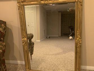 Vintage Gold Mirror for Sale in Laurel,  MD