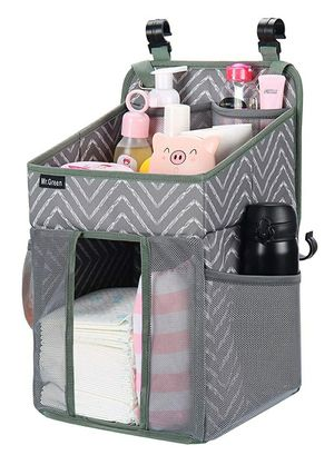 MR.GREEN Nursery Diaper Organizer ,Hanging Diaper Caddy Organization Storage for Playard & Baby Shower Gifts for Newborn for Sale in Tolleson, AZ