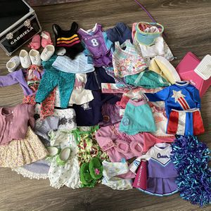 Huge Lot Of American Girl Doll Clothes for Sale in Chandler, AZ