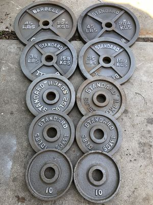 Olympic Weight Set for Sale in Modesto, CA