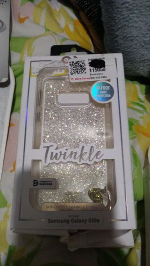 Twinkle iridescent sparkle effect Samsung Galaxy S10e phone case for Sale in Thermal, CA