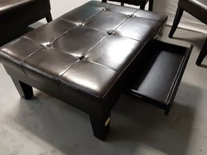 Leather ottman for Sale in Fontana, CA