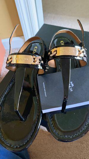 Like new Michael Kors Black Sandals for Sale in Murfreesboro, TN