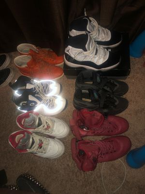 Jordan's/Nike's/ gucci shoes 8.5-9 for Sale in Waldorf, MD
