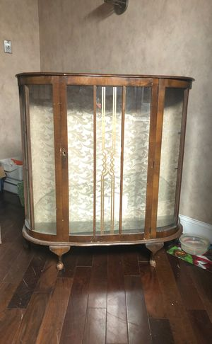 1960s antique china cabinet for Sale in Cherry Hill, NJ