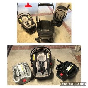 Graco Modes Click Connect Stroller w/ new seat and 2 car bases for Sale in El Segundo, CA