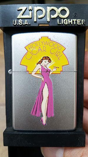 Zippo Hollywood cigar girl satin chrome 86391 for Sale in Los Angeles, CA