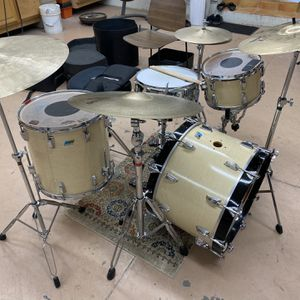 Vintage Ludwig 1970s Maple Cortex Kit + Cymbals, Hardware for Sale in Newport Beach, CA