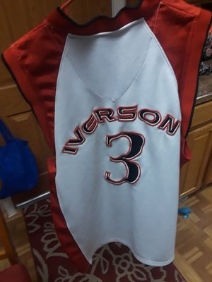 Iverson Reebok Jersey for Sale in Westland, MI