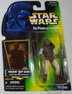 Star Wars POTF Weequay Skiff Guard Action Figure MOC for Sale in Lakewood, WA