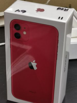 Brand new sealed never used or opened Apple iPhone 11 red any carrier any sim for Sale in Cleveland, OH