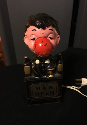 Antique & Vintage Collectible The Bar is Open Lamp for Sale in Boston, MA