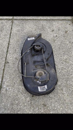 """MTD riding lawn mower cutting deck 38"""" for Sale in Parma Heights, OH"""