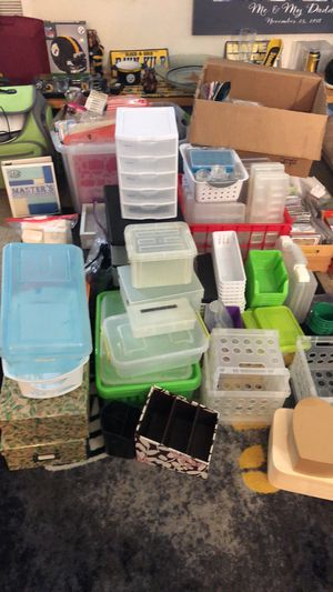 Multiple Storage Bins/Containers/Small Storage Drawer Towers for Sale in Montpelier, MD