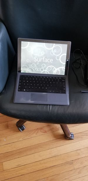 Microsoft Surface pro 3 the digitizer is working little lazy. for Sale in Pawtucket, RI